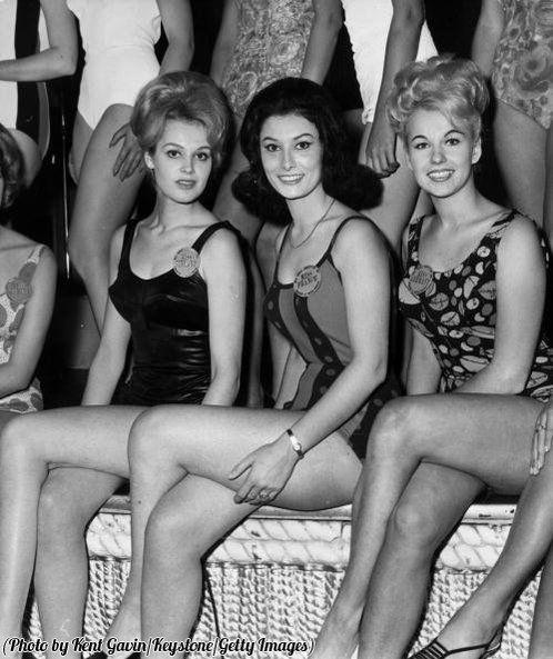 Miss Finlandia, Miss Francia e Miss Germania 1963