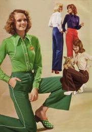 Pantaloni a righe, 1974