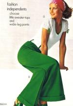 Pantaloni a campana by Sears, 1973