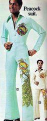 Peacock suit