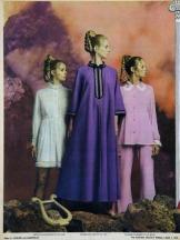 Pyjama fashions, 1970