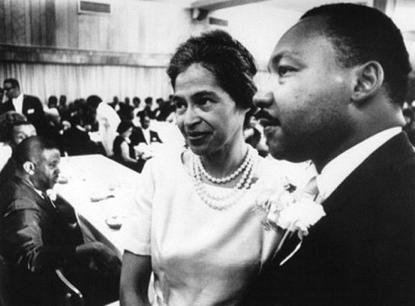 Rosa Parks e Martin Luther King Jr