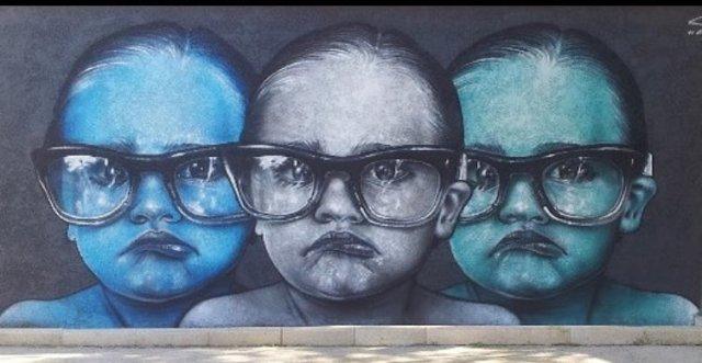 Street art by Seno