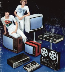 Televisione e apparecchiature hi fi, 1970
