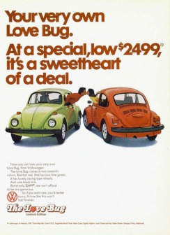 The Love Bug – 1974 edizione limitata Volkswagen