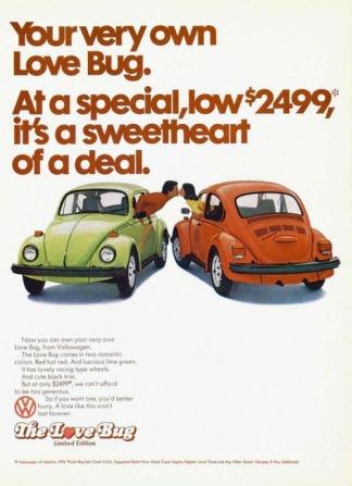 The Love Bug – 1974 edizione limitata Volkswagen