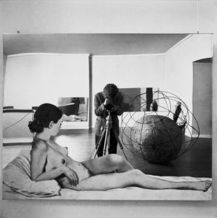 Michelangelo Pistoletto, Vitalità del negativo, Roma, 1970 © Fotografie di Ugo Mulas © Eredi Ugo Mulas. Tutti i diritti riservati