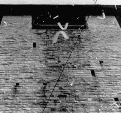 Ugo Mulas - B. Munari, Visualizzazione dell'Aria di Piazza Duomo, Como 21 settembre 1969