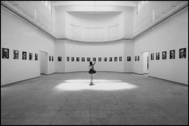 Sala di G. Richter, Biennale, Venezia, 1972