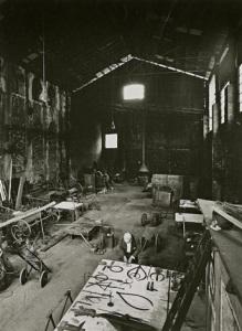 Ugo Mulas - David Smith in his Voltri studio by Ugo mulas, Voltri 1962