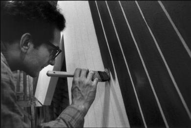 Ugo Mulas - Frank Stella, New York 1965