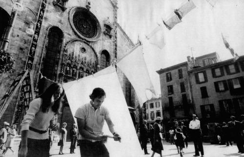 Ugo Mulas - G. Pettena, Laundry, Como 21 settembre 1969