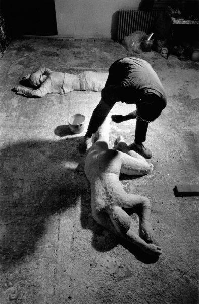 Ugo Mulas - George Segal, New York 1964