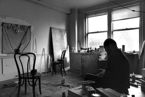 Ugo Mulas - Jim Dine, New York 1964