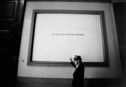 Ugo Mulas, Le Verifiche - La didascalia, A Man Ray