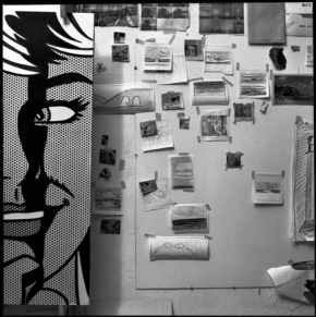 Ugo Mulas - Roy Lichtenstein, New York 1964