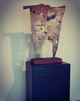 """""""Figure (Racconto del demonio n. 1)"""" (1962) di Pietro Consagra"""