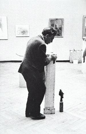 Alberto Giacometti, XXXI Biennale di Venezia , 1962. Fotografia di Ugo Mulas