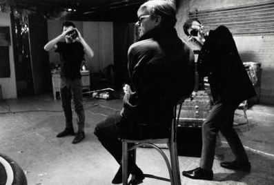 Andy Warhol , 1967. Fotografia di Ugo Mulas