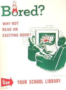 Annoiato? Perché non leggi un libro avvincente? 1960