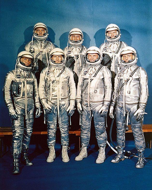 Astronauti del Mercury 7, 1960