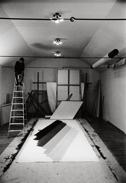 Atelier de Kenneth Noland, Vermont, 1965 © Estate Ugo Mulas, Milano