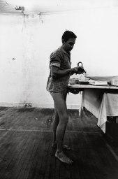 Atelier de Robert Rauschenberg, New York, 1964 © Estate Ugo Mulas, Milano