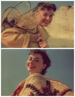 Audrey Hepburn. Fotografia di Joseph McKeown