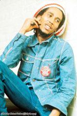 Bob Marley negli uffici della Island Records, Londra, 1975