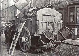 Carrello della polvere, Londra, c. 1910