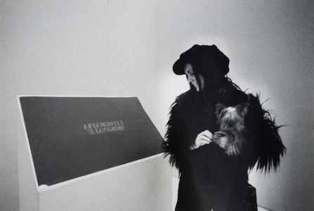 Castellani , 1970. Fotografia di Ugo Mulas