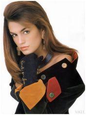 Cindy Crawford, Vogue, 1987