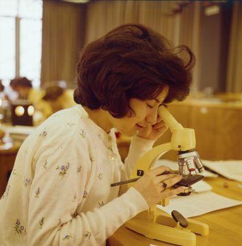 Classe di scienze alla Carleton University, Ottawa 1961