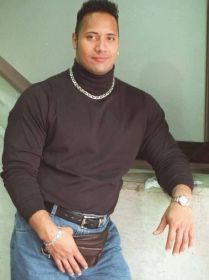 Dwayne The Rock Johnson, 1990