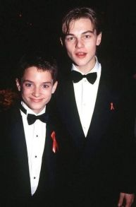 Elijah Wood e Leonardo DiCaprio agli Oscar 1994