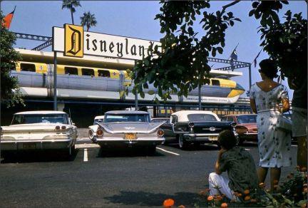 Entrata di Disneyland, 1960