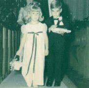 George Clooney come portatore di anelli a un matrimonio, 1966