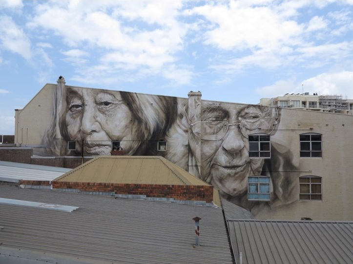 Guido van Helten @Sydney, Australia