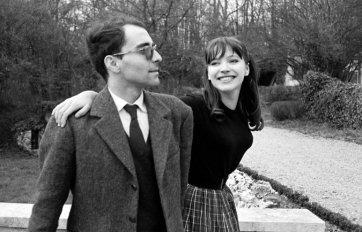 Jean-Luc Godard e Anna Karina in Francia attorno al 1960. Credit Giancarlo Botti/Gamma-Rapho, via Getty Images