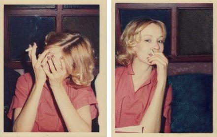 Jessica Lange by Antonio Lopez, Londra 1975