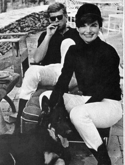 John F. e Jackie Kennedy