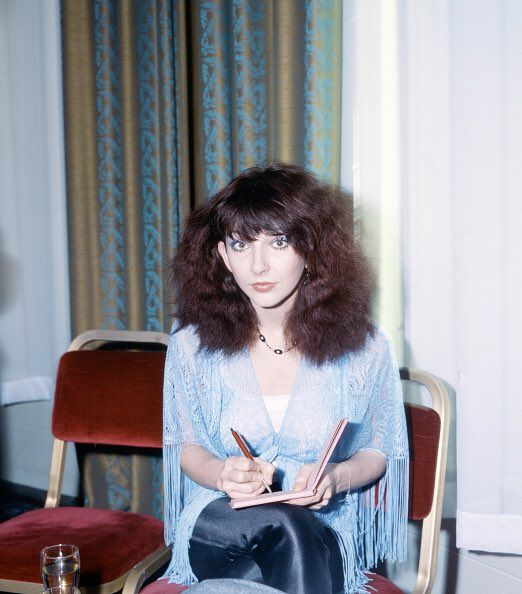 Kate Bush al Rock e Pop Awards britannici il 26 febbraio 1980