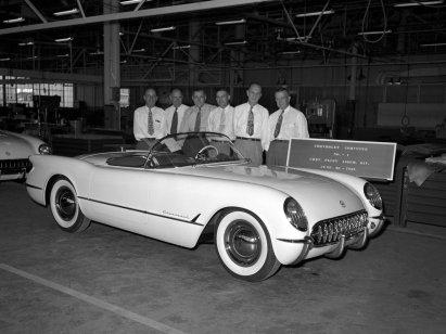La prima Corvette, 30 Giugno 1953