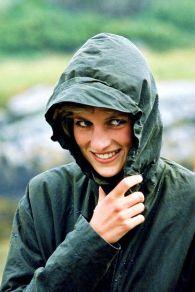 La principessa Diana nelle isole occidentali della Scozia, luglio 1986