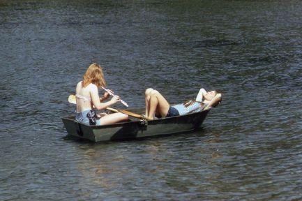 Larrabee State Park, nei pressi di Bellingham, Washington, maggio 1973