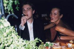 Leonardo DiCaprio e Kate Moss