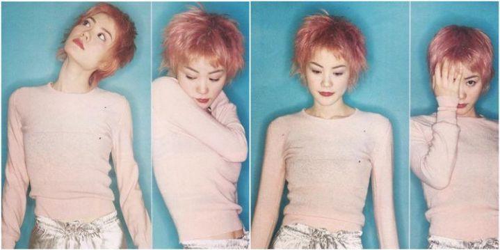 L'icona di stile cinese Faye Wong (foto scattate nel 1994)