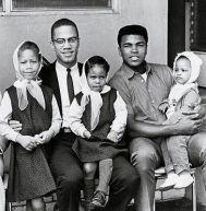 Malcom X, Muhammad Ali e i loro bambini