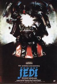 Manifesto polacco de 'Il ritorno dello Jedi', 1983