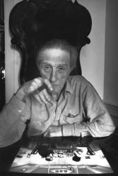 Marcel Duchamp, New York, 1965